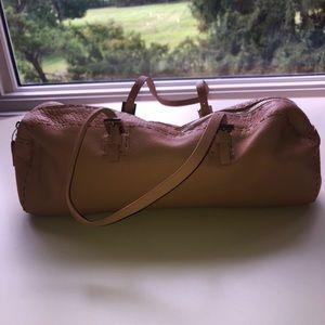 Fendi tan leather bag